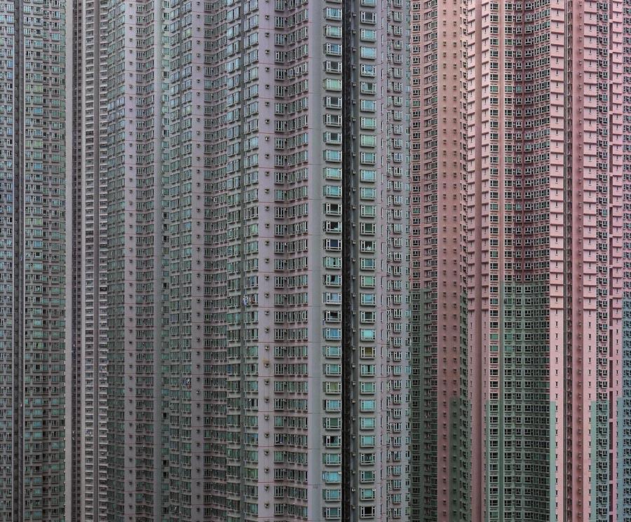 des immeubles à Hong Kong